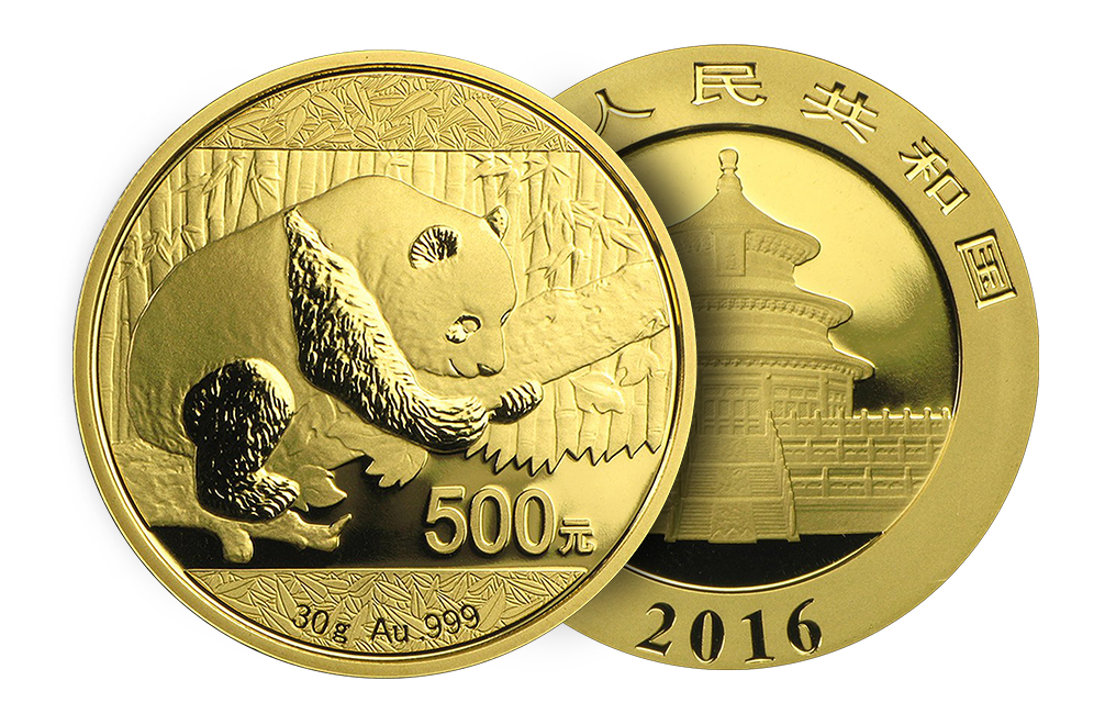 Buy 30 gram Chinese Gold Panda Coins (2016 and later), image 2
