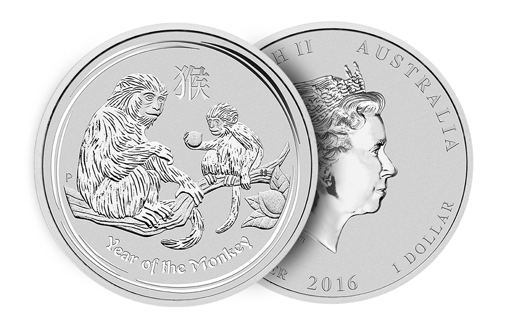 Buy 2016 1 oz Silver Monkey Coins, image 2