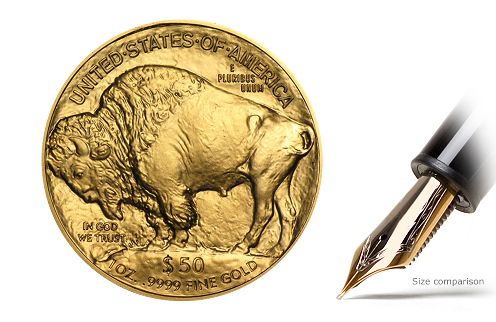 2017 MintFirst™ 1 oz Gold American Buffalo (Single Coin), image 1