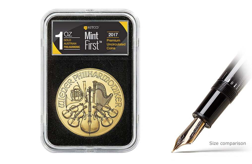 Buy 2017 1 oz Gold Philharmonic Coins MintFirst™, image 0