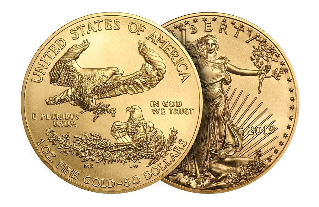 Buy 2018 1 oz Gold Eagle Coins MintFirst (20 per tube), image 3