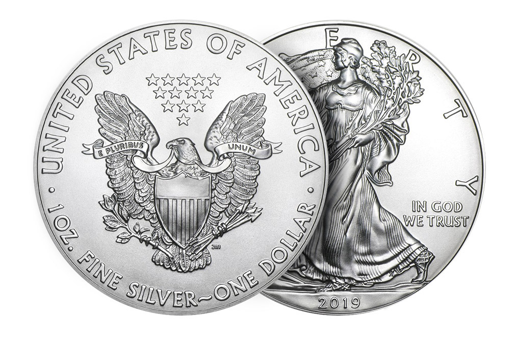 Buy 2019 MintFirst Silver Eagle Coins (tube of 20), image 3