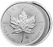 Buy 2017 MintFirst Silver Maple Leaf Coins (25 pcs) .9999, image 3