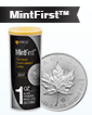 2019 MintFirst™ 1 oz Silver Maple Leaf (25 Coins) .9999