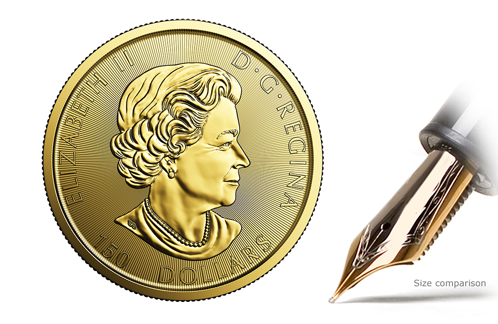 Buy 2017 1 oz Gold RCM 150 Special Edition Voyageur Coin, image 3