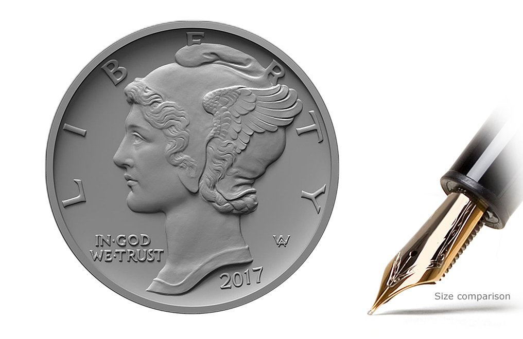 Sell 2017 1 oz Palladium American Eagle Coin, image 1