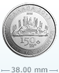 2017 1 oz Silver RCM 150 Special Edition Voyageur Coin .9999