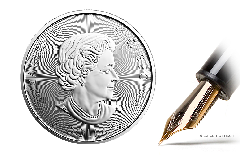 Sell 2017 1 oz Silver RCM 150 Special Edition Voyageur Coin, image 1
