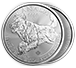 Buy 2018 1 oz Silver Wolf- RCM Predator Series Coin .9999, image 2