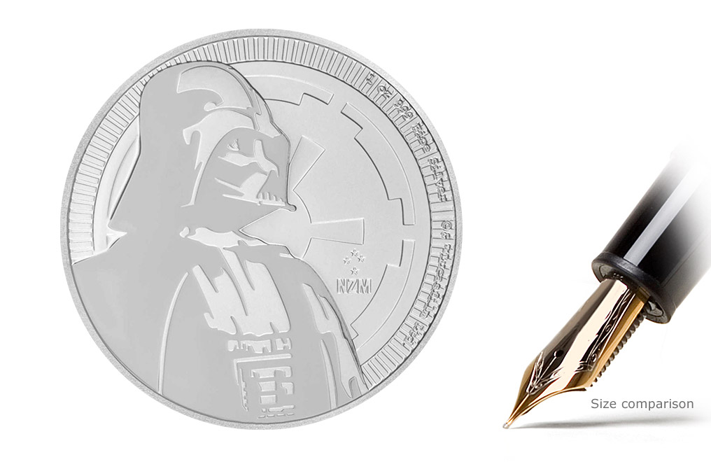 Sell 2017 1 oz Silver Star Wars™ Coins (Darth Vader™), image 0