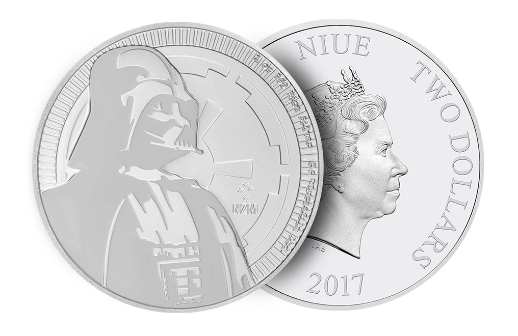 Sell 2017 1 oz Silver Star Wars™ Coins (Darth Vader™), image 2