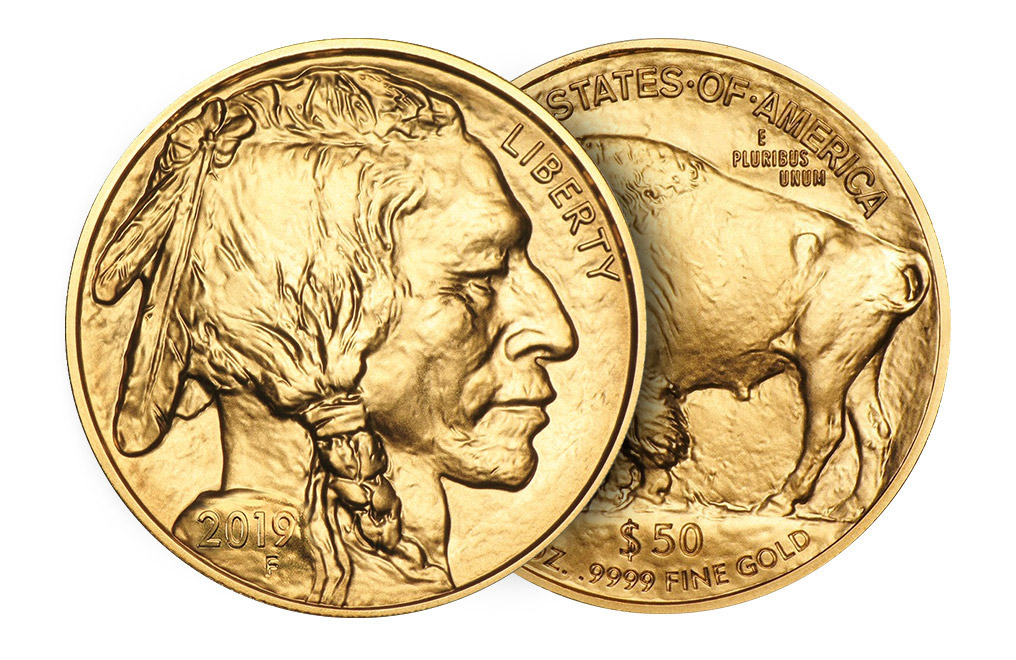 2019 MintFirst™ 1 oz Gold Buffalo (20 Coins), image 3