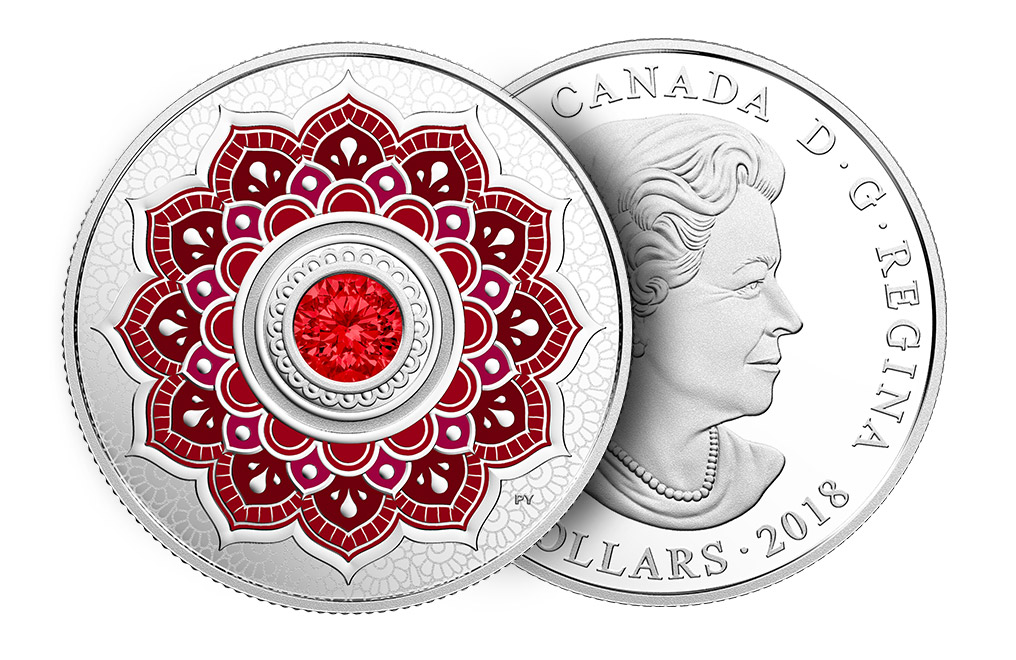 Buy 2018 1/4 oz Silver Coin - Birthstone - July .9999, image 2
