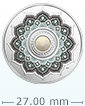 1/4 oz Silver Coin - Birthstone - June .9999