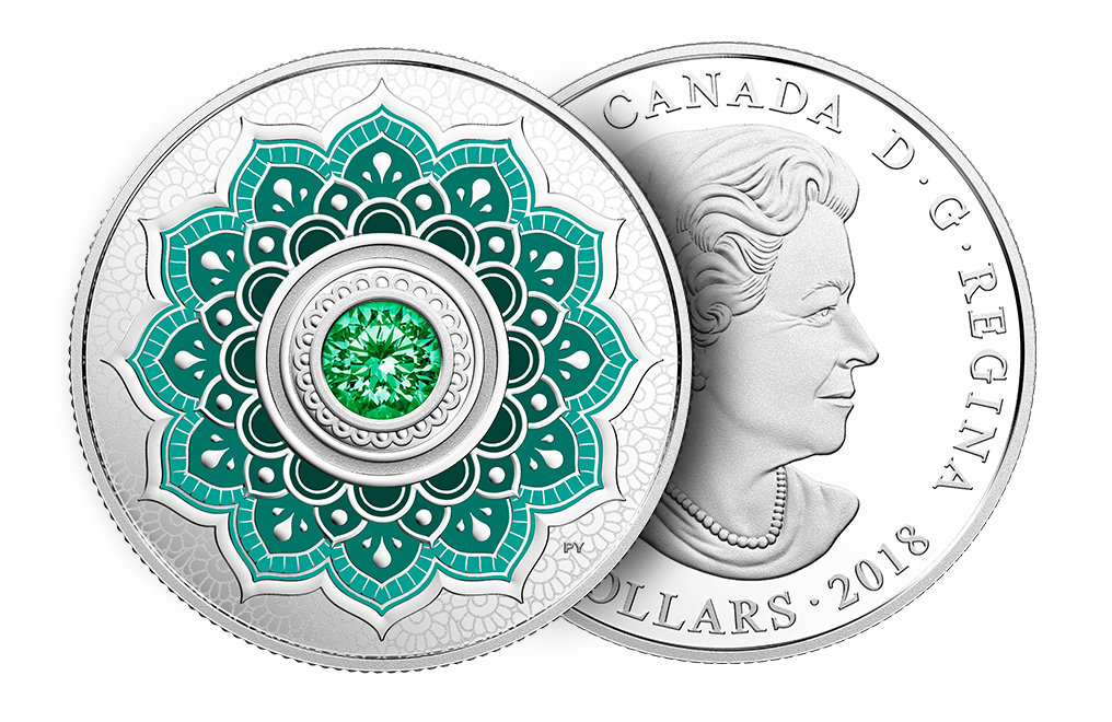 Buy 2018 1/4 oz Silver Coin - Birthstone - May .9999, image 2