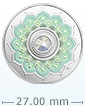 1/4 oz Silver Coin - Birthstone - October .9999