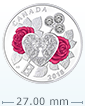 2018 1/4 oz Silver Coin - Celebration of Love .9999