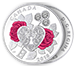 Buy 2018 1/4 oz Silver Coin - Celebration of Love .9999, image 2