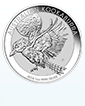 2018 1 kg Silver Australian Kookaburra Coin .9999[Shipping week of October 30th]