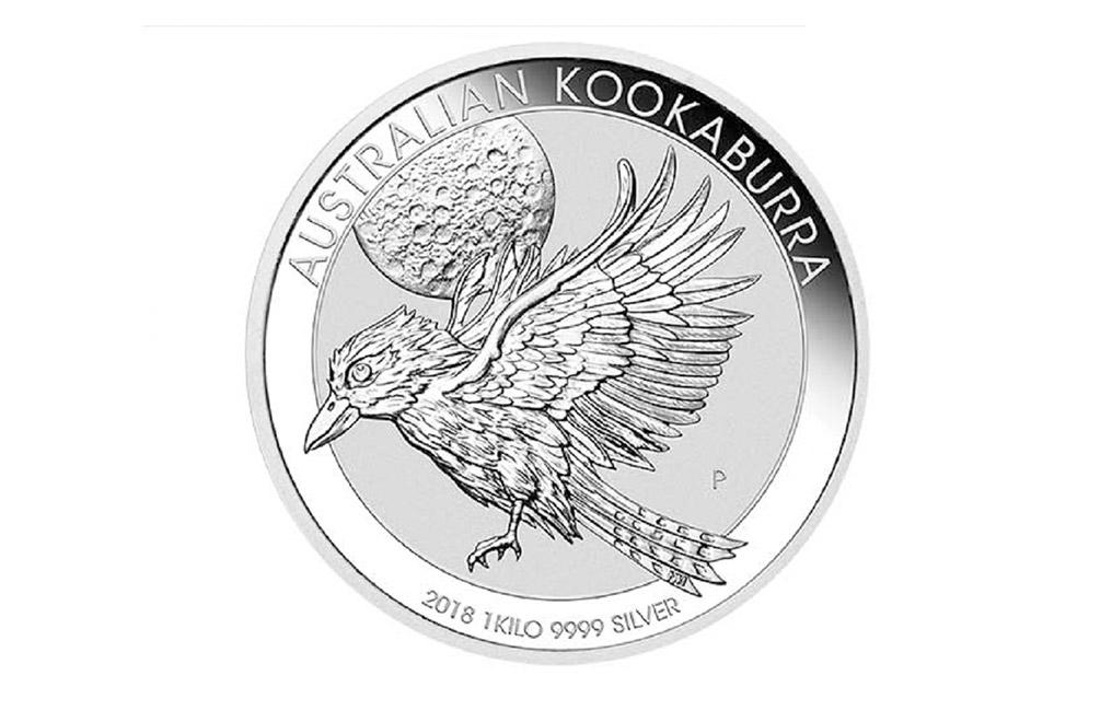 2018 1 Kg Silver Australian Kookaburra Coin Silver Coins