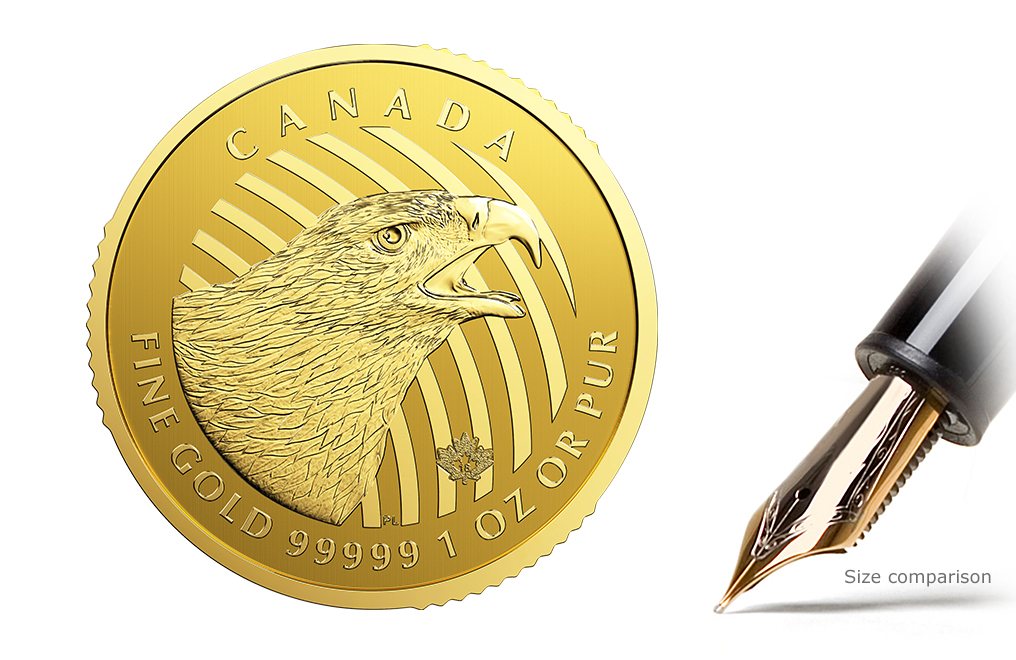 Sell 2018 1 oz Canadian Golden Eagle Coins - RCM Call of the WIld Series, image 2