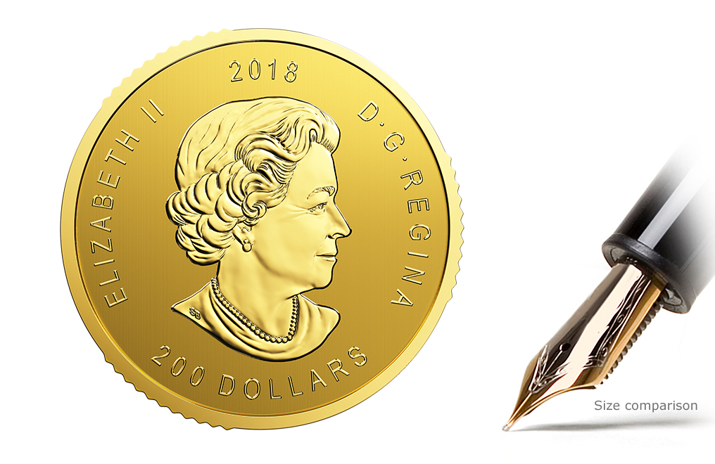 Sell 2018 1 oz Canadian Golden Eagle Coins - RCM Call of the WIld Series, image 3