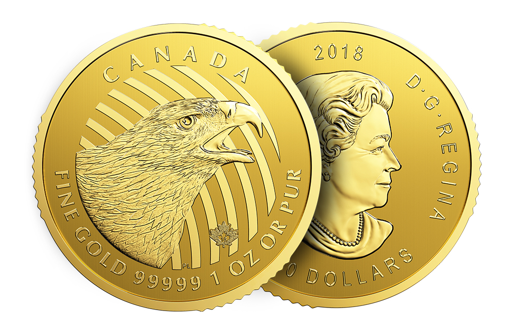 Sell 2018 1 oz Canadian Golden Eagle Coins - RCM Call of the WIld Series, image 4