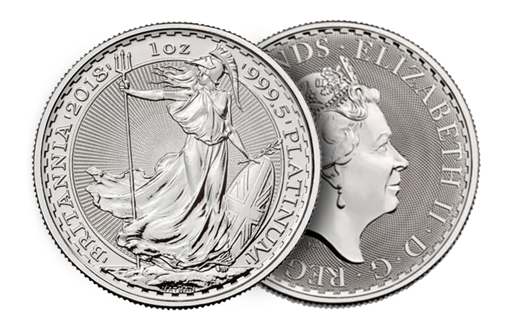 Buy 1 oz British Platinum Britannia Coins, image 2