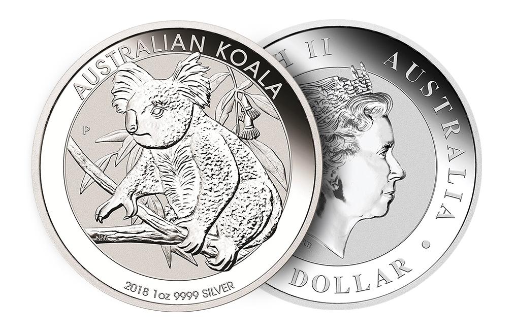 Buy 2018 1 Oz Silver Australian Koala Coin Silver Coins