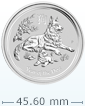 2018 1 oz Silver Australian Lunar Dog [Shipping week of Sept 25th - Limited Quantities Left]
