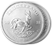Buy 1 oz South African Silver Krugerrand Coins, image 2