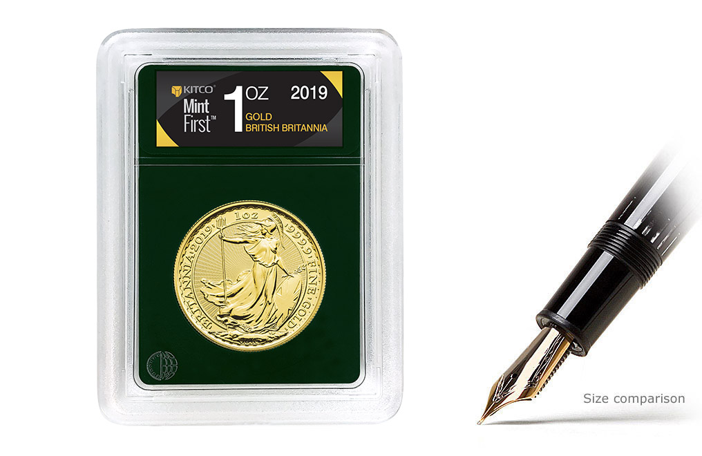 Buy 2018 1 oz Gold Britannia Coins MintFirst™ (Single Coin), image 0