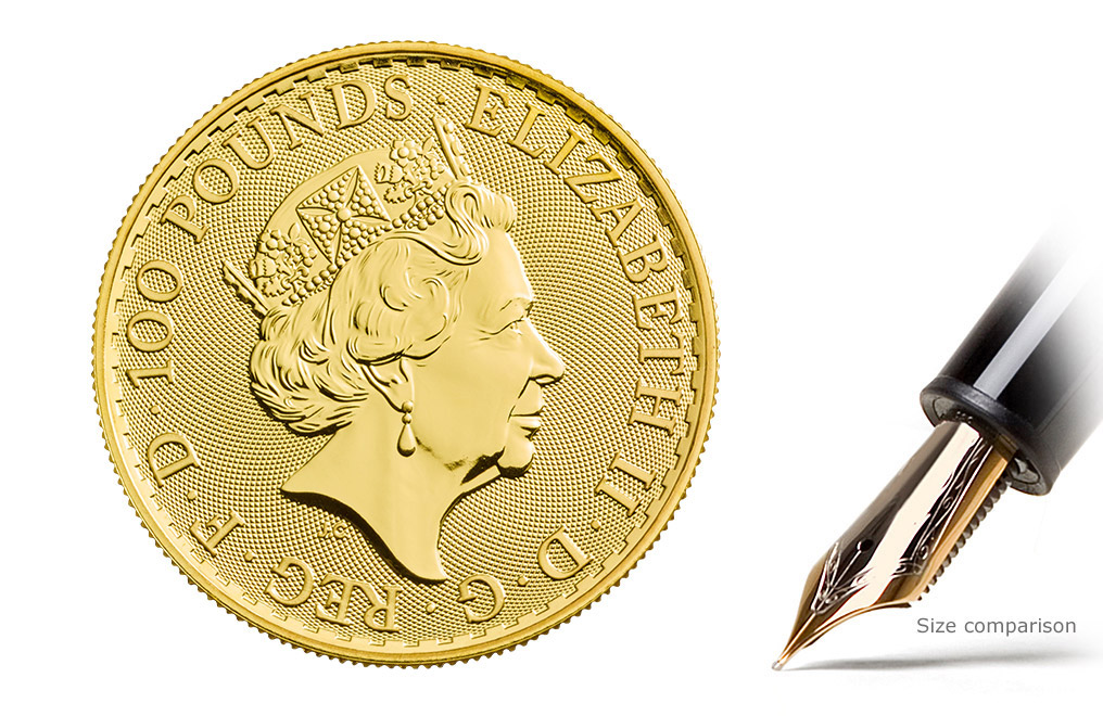 Buy 2018 1 oz Gold Britannia Coins MintFirst™ (Single Coin), image 2