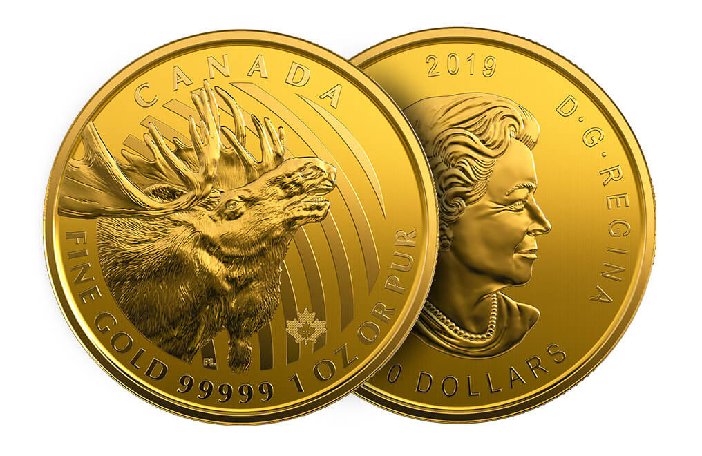Buy 2019 1 oz Moose Coins - RCM Call of the Wild Series, image 4