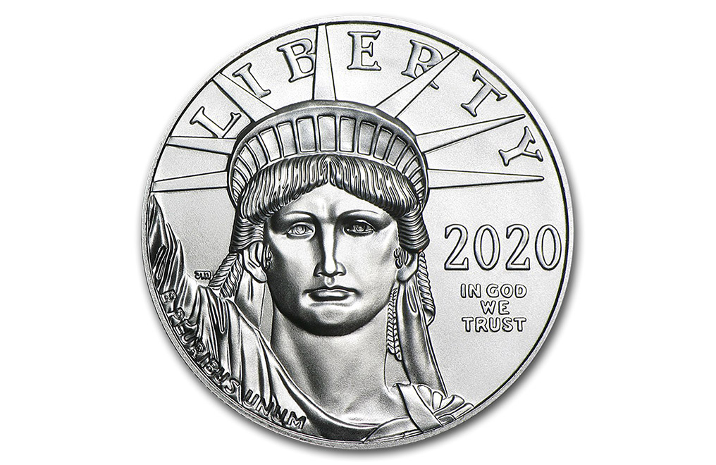 Buy 2020 1 oz Platinum American Eagle Coins, image 0