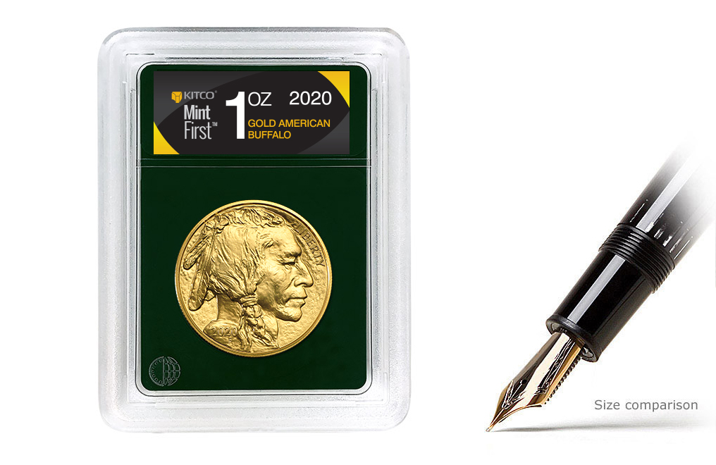Buy 2020 MintFirst™ 1 oz Gold American Buffalo (Single Coin), image 0