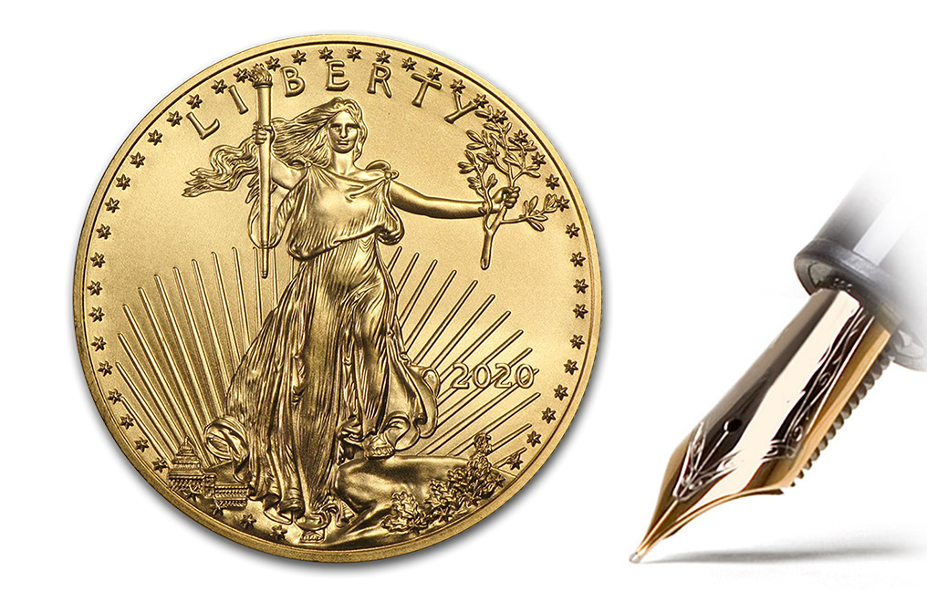 Buy 2020 MintFirst™ 1 oz Gold Eagle (Single Coin), image 1