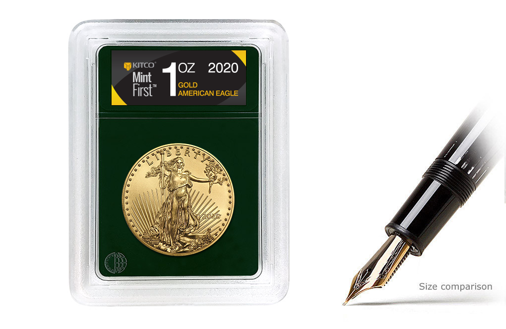 Buy 2020 MintFirst™ 1 oz Gold Eagle (Single Coin), image 0