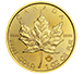 Buy 2020 MintFirst™ 1 oz Gold Maple Leaf Coins (tube of 10), image 1