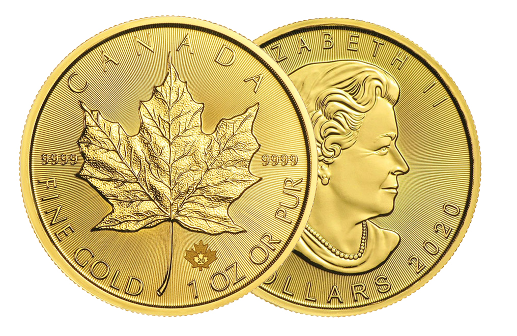 Buy 2020 MintFirst™ 1 oz Gold Maple Leaf Coins (tube of 10), image 3
