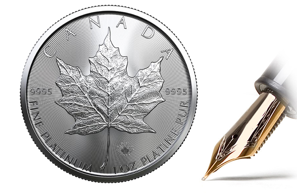 Buy 2020 1 oz Platinum Maple Leaf Coins MintFirst™ (Single Coin), image 1
