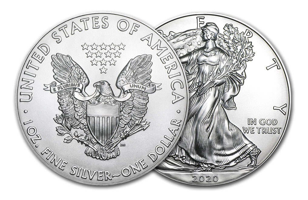 Buy 2020 MintFirst™ Silver Eagle Coins (tube of 20), image 3