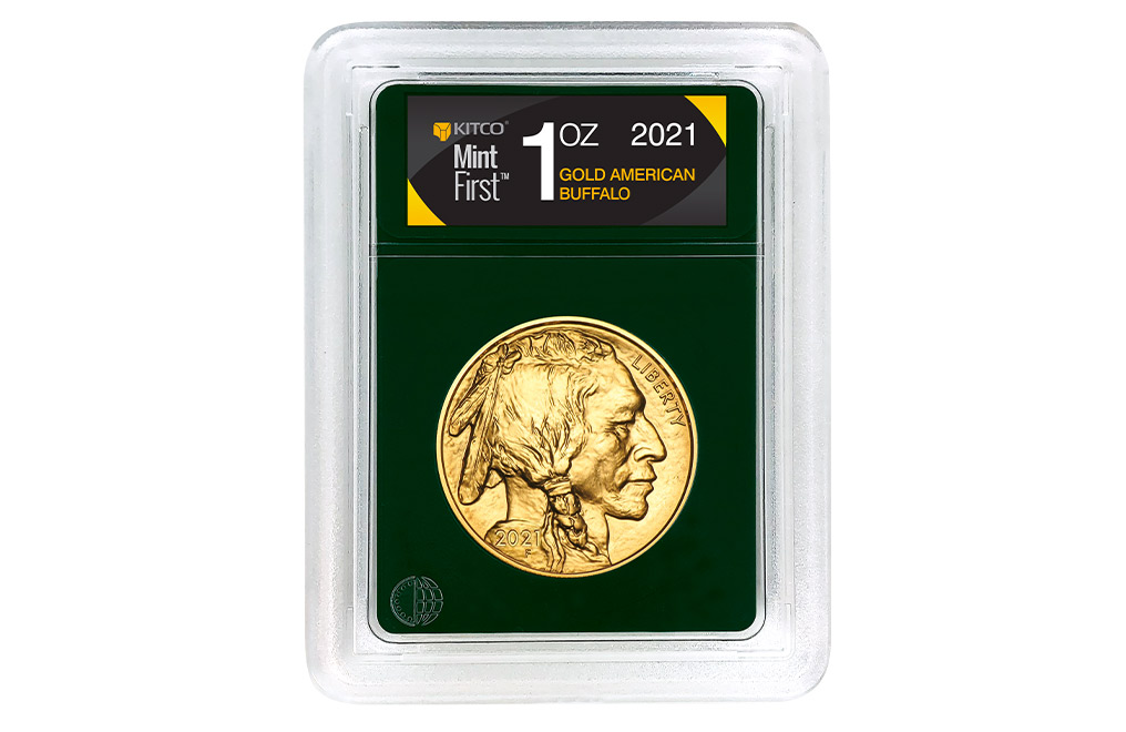 Buy 2021 MintFirst™ 1 oz Gold American Buffalo (Single Coin), image 0