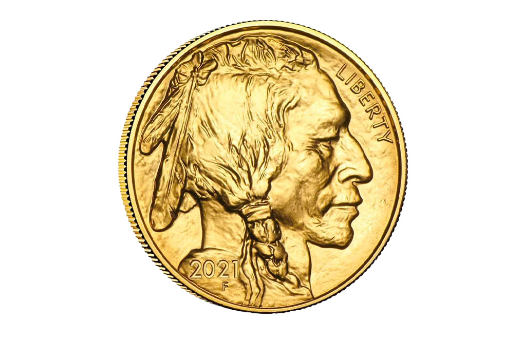 Buy 2021 MintFirst™ 1 oz Gold American Buffalo (Single Coin), image 1