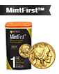 2021 1 oz Gold American Buffalo Tube (20 coins) - MintFirst™