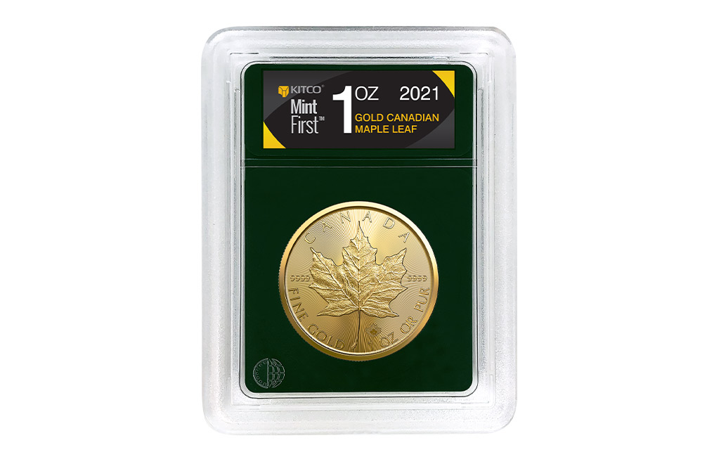 Buy 2021 1 oz Gold Maple Leaf Coins MintFirst™ (Single Coin), image 0