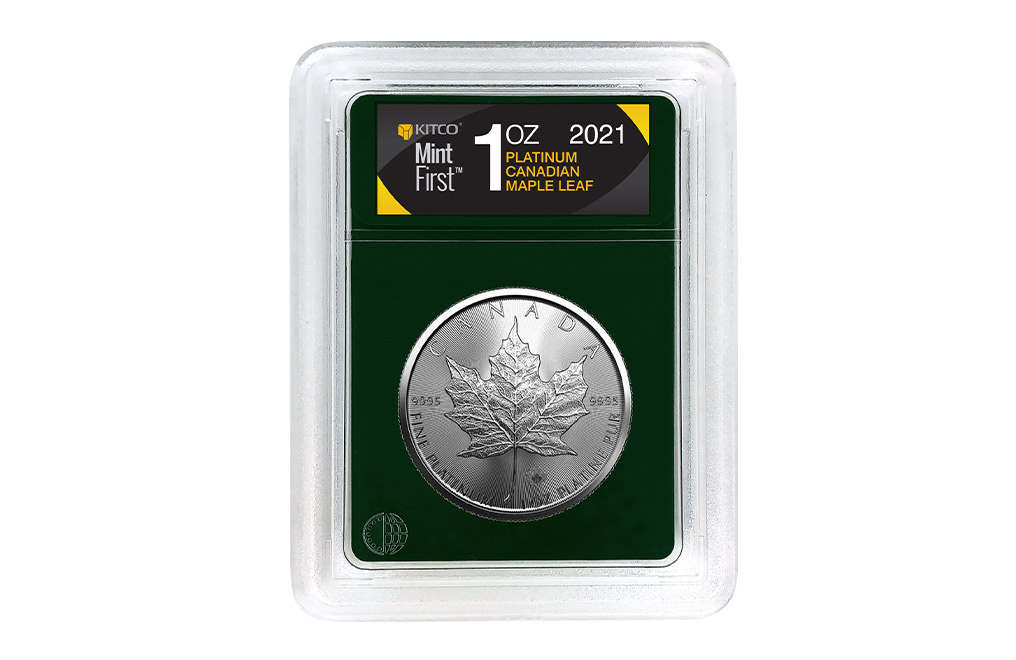 Buy 2021 1 oz Platinum Maple Leaf Coins MintFirst™ (Single Coin), image 0
