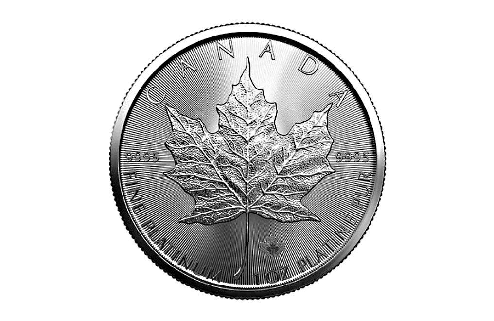 Buy 2021 MintFirst™ 1 oz Platinum Maple Leaf Coins (tube of 10), image 1