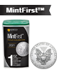 2021 1 oz Silver American Eagle Tube (20 coins) - MintFirst™[US: Shipping the week of Apr 19th]