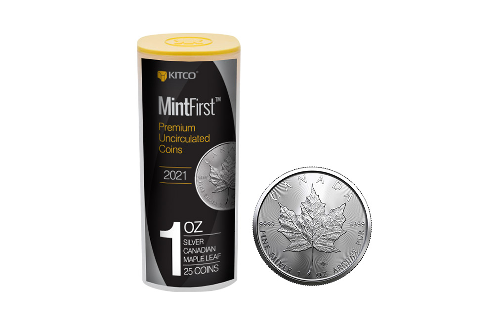 Buy 2021 MintFirst™ Silver Maple Leaf Coins (25 pcs) .9999, image 0